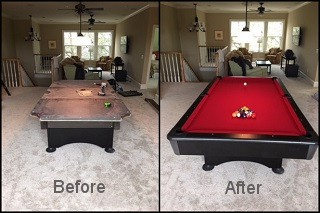 expert pool table recovering in Snoqualmie content img3